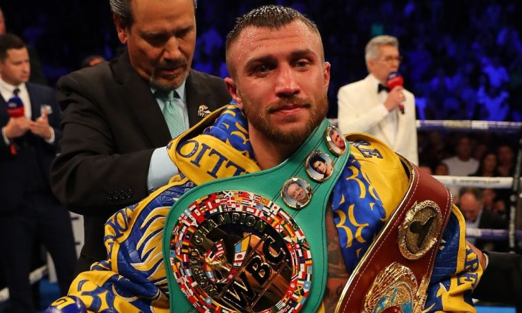 Lightweight titlist Vasiliy Lomachenko to fight Teofimo Lopez, promoter Bob Arum says