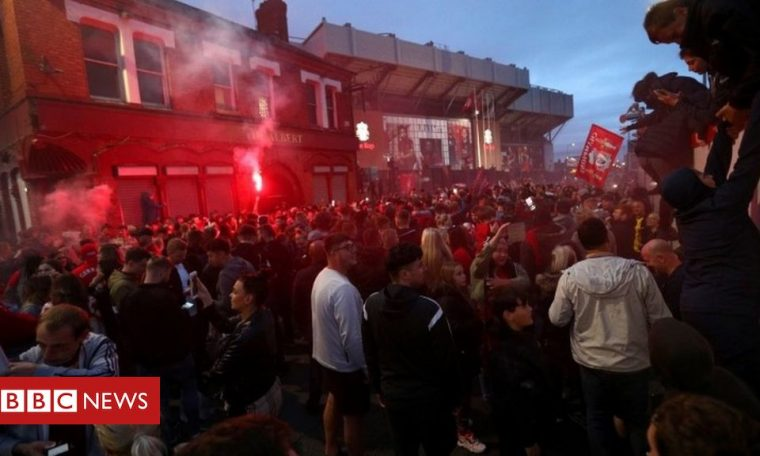Liverpool: Anfield dispersal order to 'prevent disorder'