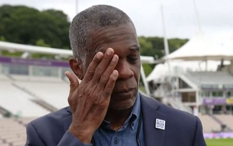 Michael Holding breaks down on camera discussing racism his parents faced   UK News