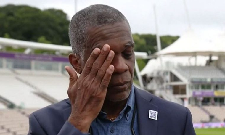 Michael Holding breaks down on camera discussing racism his parents faced | UK News