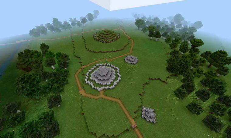 Minecraft: Lockdown lesson recreates ancient island tomb