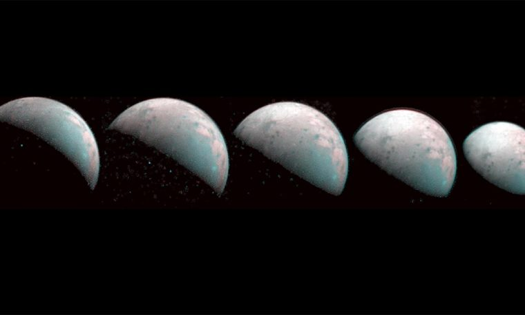 Jupiter Moon Ganymede North Pole