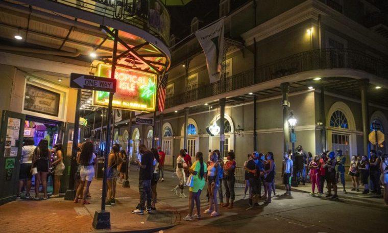 New Orleans shuts down bars, again, and bans go cups at restaurants amid coronavirus uptick | Coronavirus
