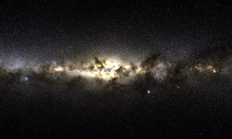 New stars found in the Milky Way were born outside of it