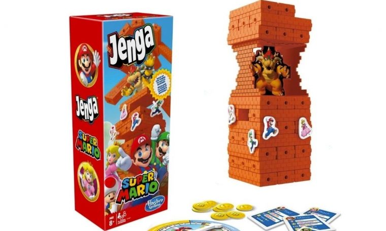 Now you can celebrate Mario's 35th anniversary with Mario Jenga • Eurogamer.net