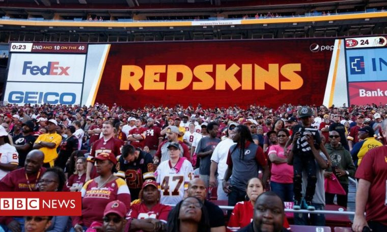 Redskins agree review of team's name