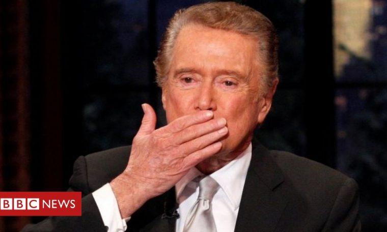 Regis Philbin, iconic US TV host, dies aged 88