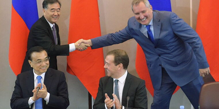 Russian space chief questions NASA plans, praises partnership with China