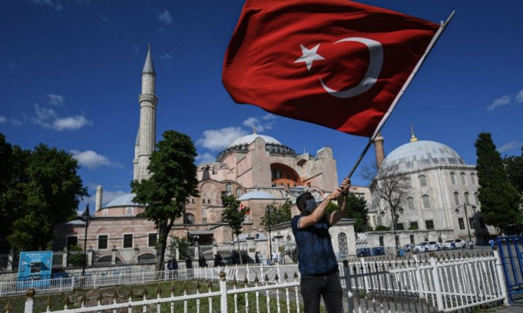 State Dept. says US 'disappointed' by Turkey's move to turn Hagia Sophia back into mosque