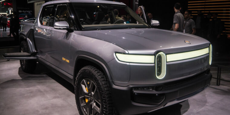 Tesla rival Rivian raises $2.5 billion to make electric trucks and SUVs