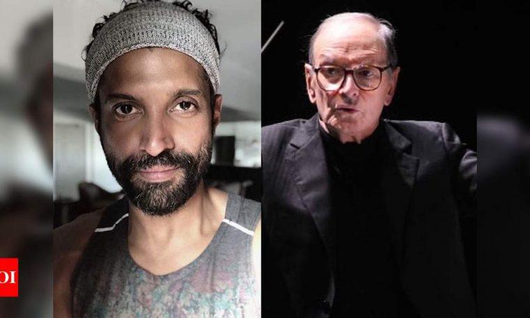 'Thank you for the music': Farhan Akhtar mourns demise of Italian composer Ennio Morricone   Hindi Movie News