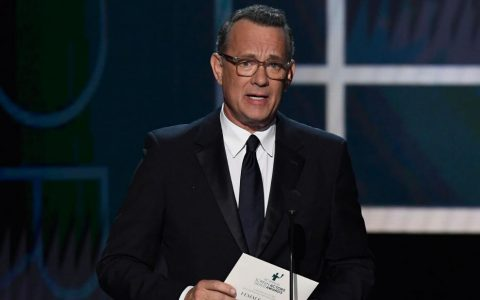 Tom Hanks says wearing a mask should be so simple in first TV interview since recovering from Covid-19