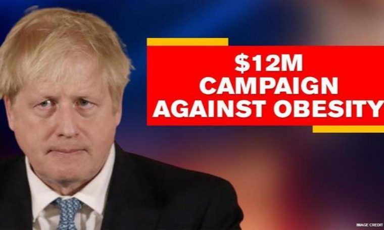 UK: Johnson to unveil $12 million campaign against obesity as part of COVID-19 response