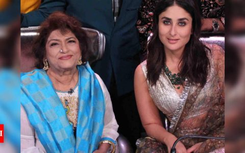 When Kareena Kapoor Khan credited Saroj Khan for her success: Every heroine has become a heroine today only because of Master Ji | Hindi Movie News