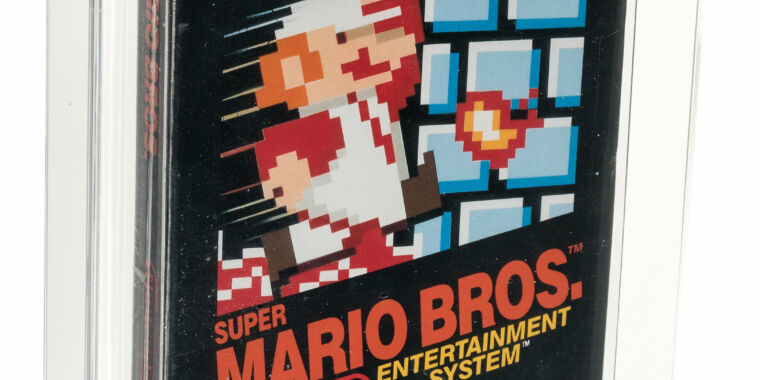 Why is this copy of Super Mario Bros. worth a record $114,000?