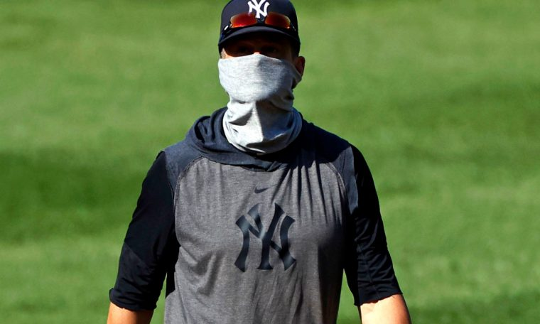 Yankees' Aaron Boone happy with efficiency of first workout