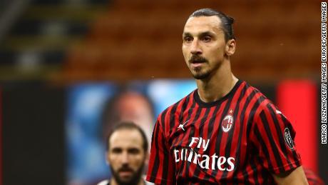 Zlatan Ibrahimovic led AC Milan's comeback against Juventus.
