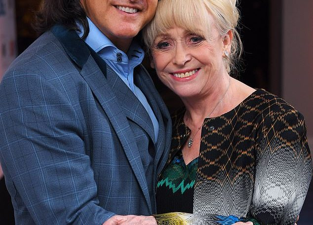 For her health: Barbara Windsor, 82, has been moved to a care home as husband Scott Mitchell admitted on Friday he was 'heartbroken' amid her battle with dementia (pictured in 2017)