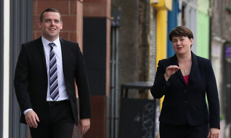 Ruth Davidson had secret meeting with Douglas Ross at his house four days before Jackson Carlaw quit as Scottish Tory leader