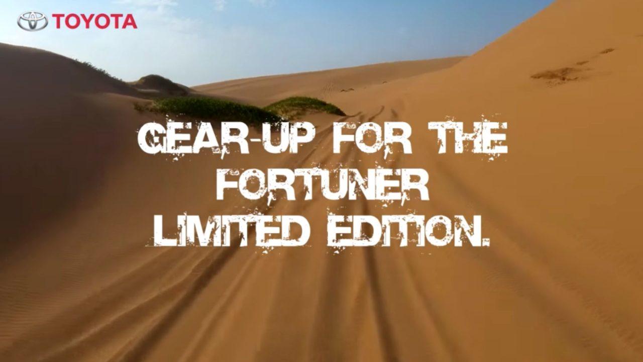 fortuner trd
