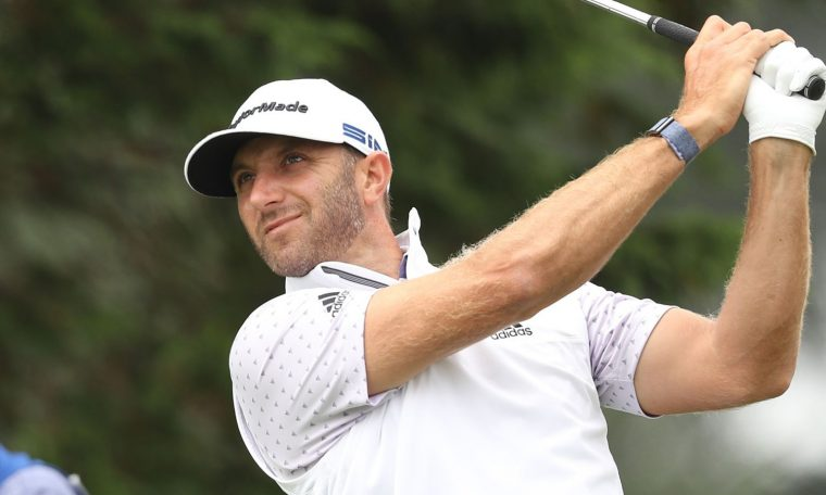 PGA: Dustin Johnson leads as Brooks Koepka stays in hunt for hat-trick   Golf News