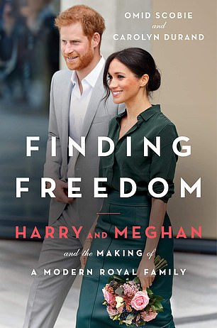 Opening up: Scobie, who co-wrote Finding Freedom with Carolyn Durand, insisted that the couple did not contribute to the book in any way