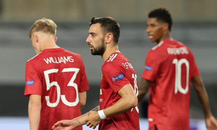 Manchester United vs FC Copenhagen highlights and reaction after Fernandes penalty seals win
