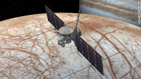 NASA's Europa Clipper spacecraft will investigate Jupiter's icy moon for signs of life