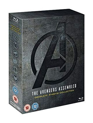 Avengers: 1-4 Complete Blu-ray Boxset Includes Bonus Disk [2019] [Region Free]