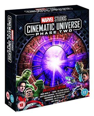 Marvel Studios Collector's Edition Box Set – Phase 2 Blu-ray [Region Free]