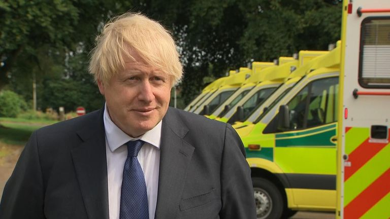 Prime Minister Boris Johnson has defended the A-level results announced in England as 'robust and reliable'