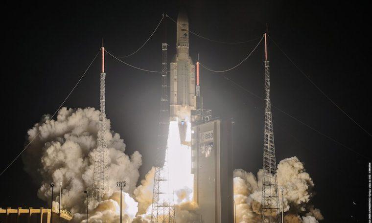 Debuting upgrades, Ariane 5 rocket deploys three U.S.-built satellites in orbit – Spaceflight Now