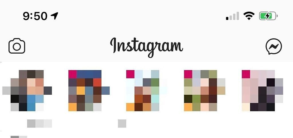 Instagram Facebook Messenger icon