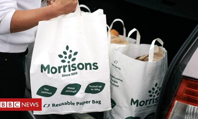 Morrisons considers ditching all 'bags for life' for paper