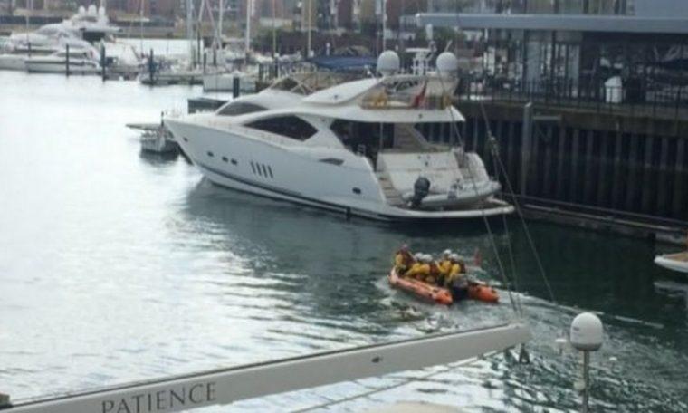 Schoolgirl, 15, dies after RIB boat crashes into buoy in marina