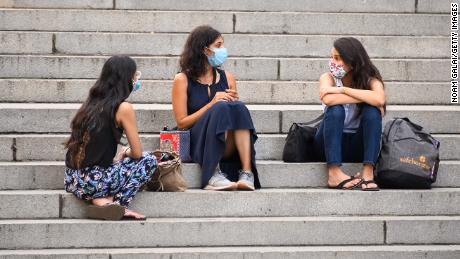 Nearly 70,000 lives could be saved in the next 3 months if more Americans wore masks, researchers say