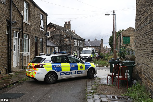 Road closures will be in place throughout the day on Knight's Fold, Bradford