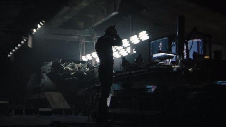 Robert Pattinson in The Batman. Pic: Warner Bros