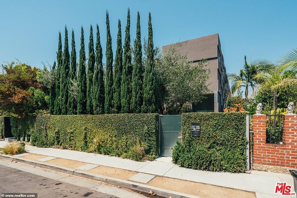 Hidden gem:The security is impressive with high walls around the home and plenty of mature trees to keep prying eyes out. Most of the house can not be seen from the street