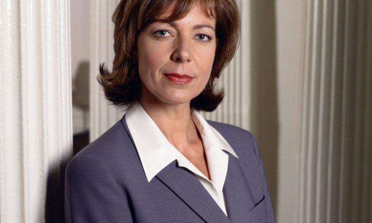 Allison Janney as C.J. Cregg in
