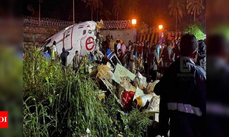 17 dead as Air India Express flight overshoots Kozhikode's table-top runway | India News