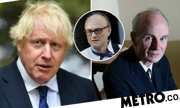 Boris 'will be gone by February', says Dominic Cummings' father-in-law