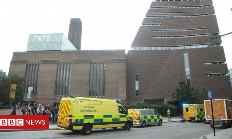 Boy thrown from Tate Modern balcony 'goes home'
