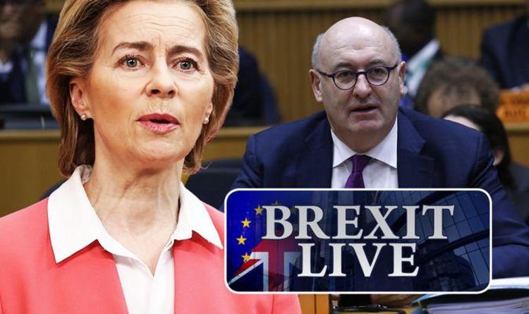 Brexit latest: Brussels faces MAJOR trade blow ahead of crunch talks - EU rocked   Politics   News