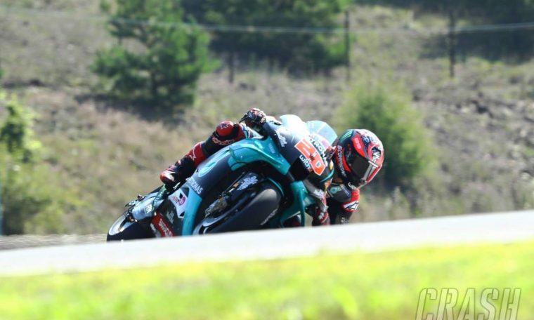 Brno MotoGP: Quartararo punches in top FP2 time in Petronas Yamaha 1-2 | MotoGP