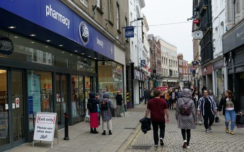 High streets have been among those worst hit by the surge on job losses