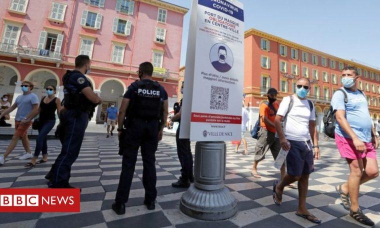 Coronavirus: France on quarantine list, and UK vaccine stockpile boosted