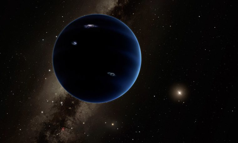 Could Planet 9 be a primordial black hole?