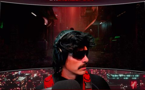 """DrDisrespect says he has """"no idea"""" why Twitch banned him in first YouTube stream"""