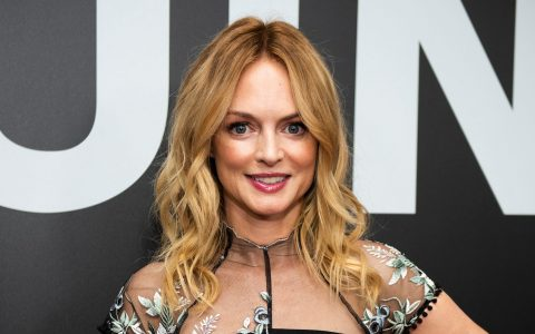 Heather Graham zens out at the beach during 'this crazy year'
